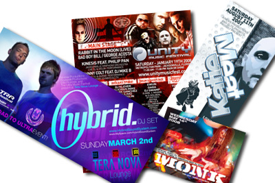 2007 Event Flyers