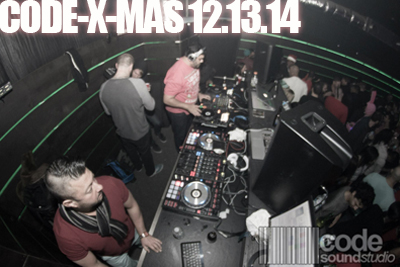 Code Sound Studio Christmas Party | 12.13.14